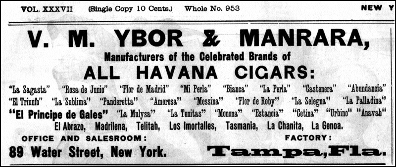 Marcas secundarias de Ybor&Manrara Co.